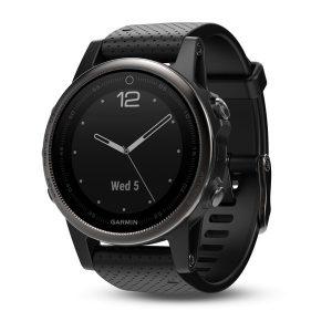fēnix® 5 Slate Gray with Black Band